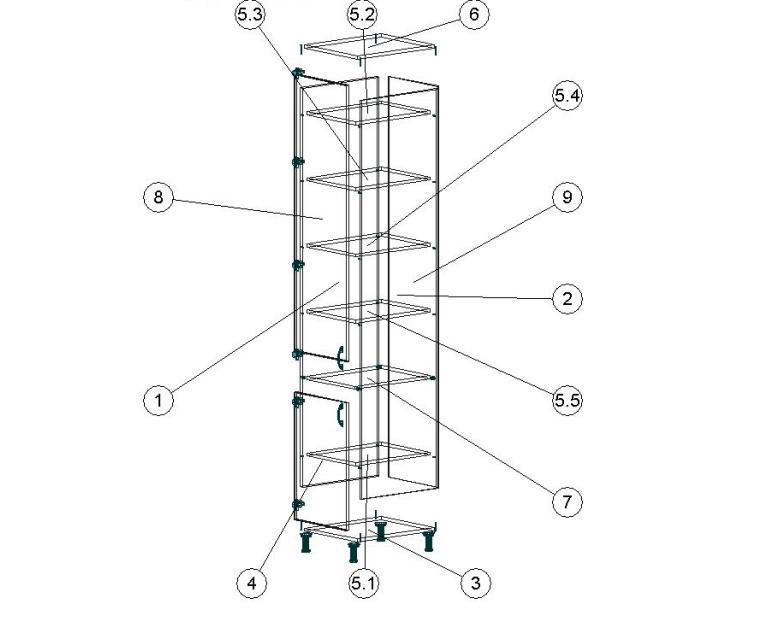 Схема сборки, чертеж 4