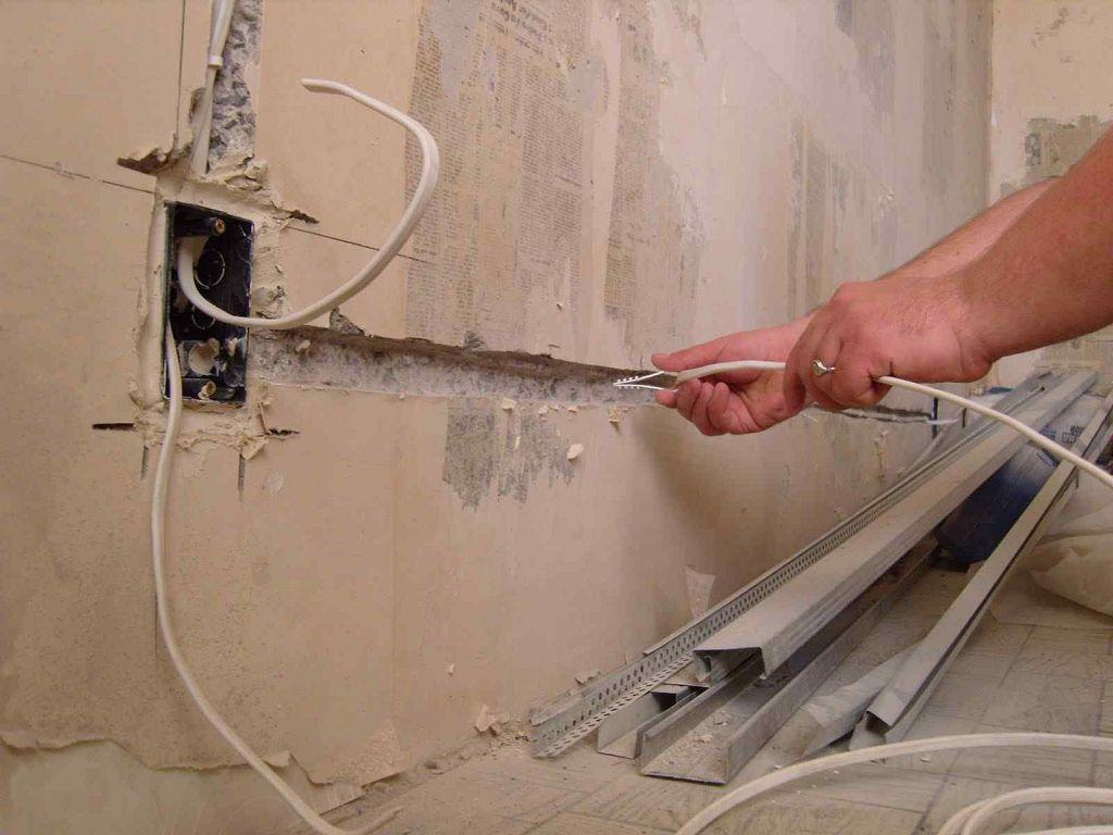 Электрическая схема в ванной комнате должна быть продумана перед началом работ