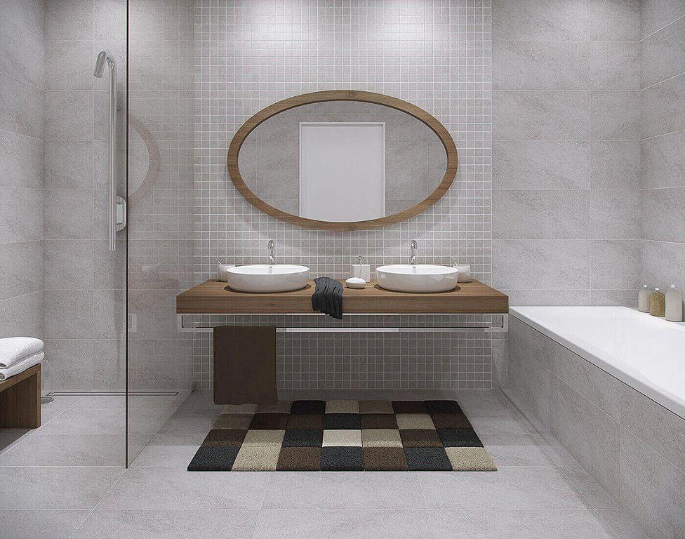 Зеркало - необходимый в ванной аксессуар