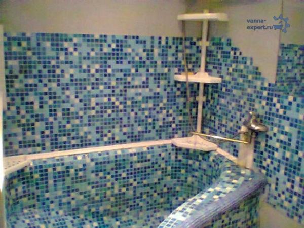 Ванна из бетона в квартире
