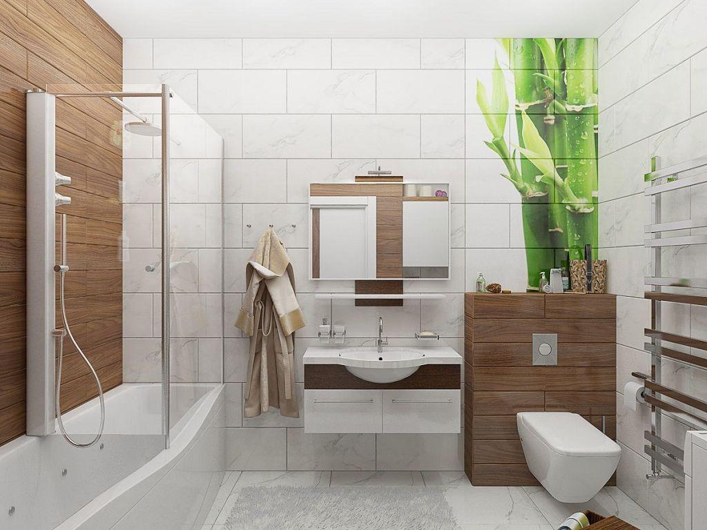 Цветовые решения современной ванной