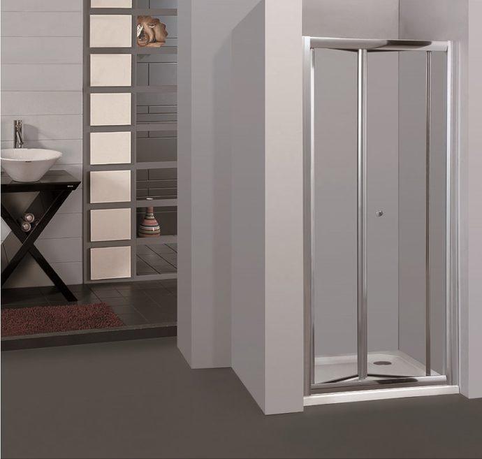 Двери для душевой складные