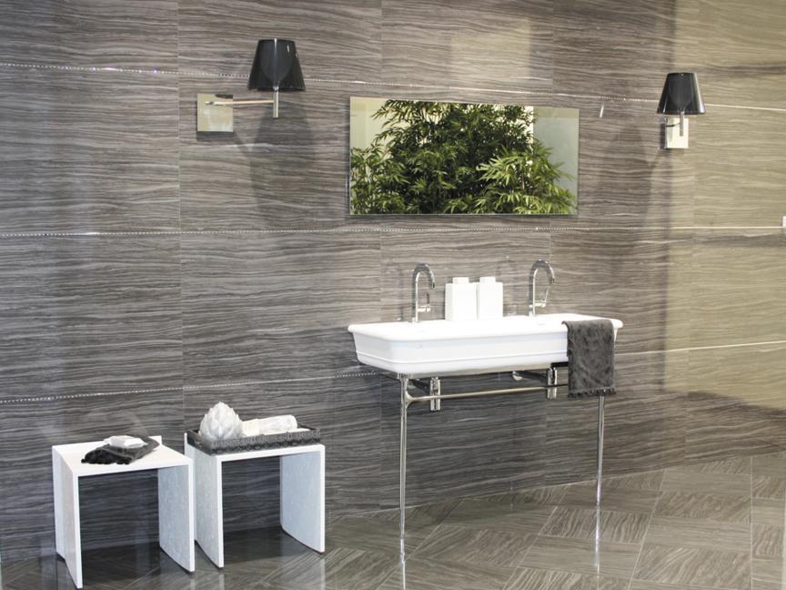 Плитка для ванной под камень