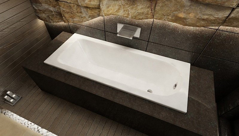 Стальная ванна Kaldewei Eurowa