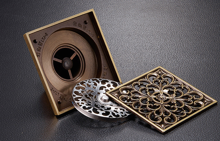 Комплектность: корпус трапа, верхняя декоративная решетка, механический гидрозатвор, металлическая сетка